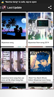 Screenshot of Myanmar Songs