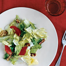 Escarole, Blood Orange, and Walnut Salad