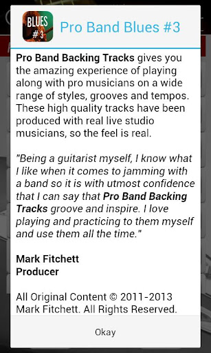 Pro Band Blues #3 - screenshot