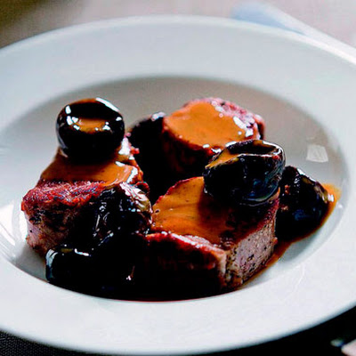 Sautéed Pork Tenderloin with Prunes