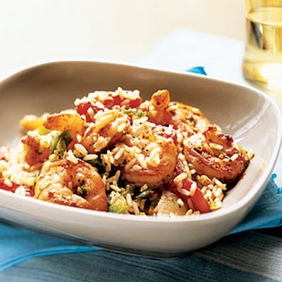 Cajun Shrimp and Rice