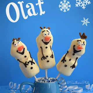 Olaf Marshmallow Sticks – Build A Snowman!