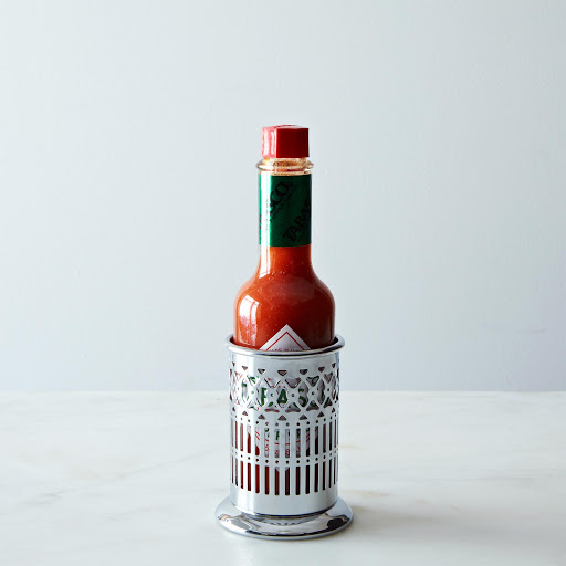 Hot Sauce & Holder Gift Set