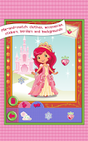 Screenshot of Strawberry Shortcake Dress Up