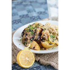 Honey-Lemon Chicken with Potatoes {Slow Cooker}