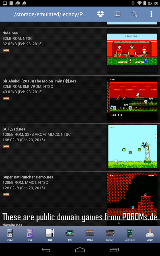 iNES - NES Emulator Screenshot 9