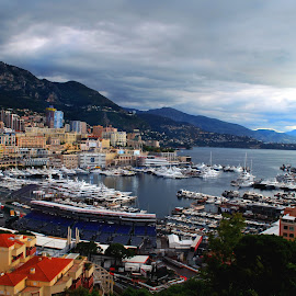 Monaco.! From the Castle by Sajal Gupta - Landscapes Travel