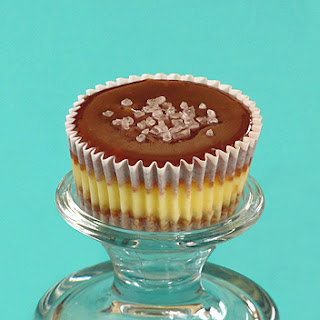 Salted Caramel Cheesecake Cups