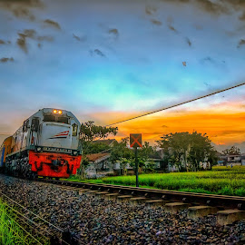 KA Pandanwangi by Randi Pratama M - Transportation Trains ( railroad, train )