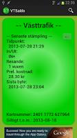 Screenshot of VTSaldo