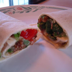 King Tut's Vegetable Wrap