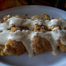 Texas-Style Chicken Fried Steak With Cream Gravy