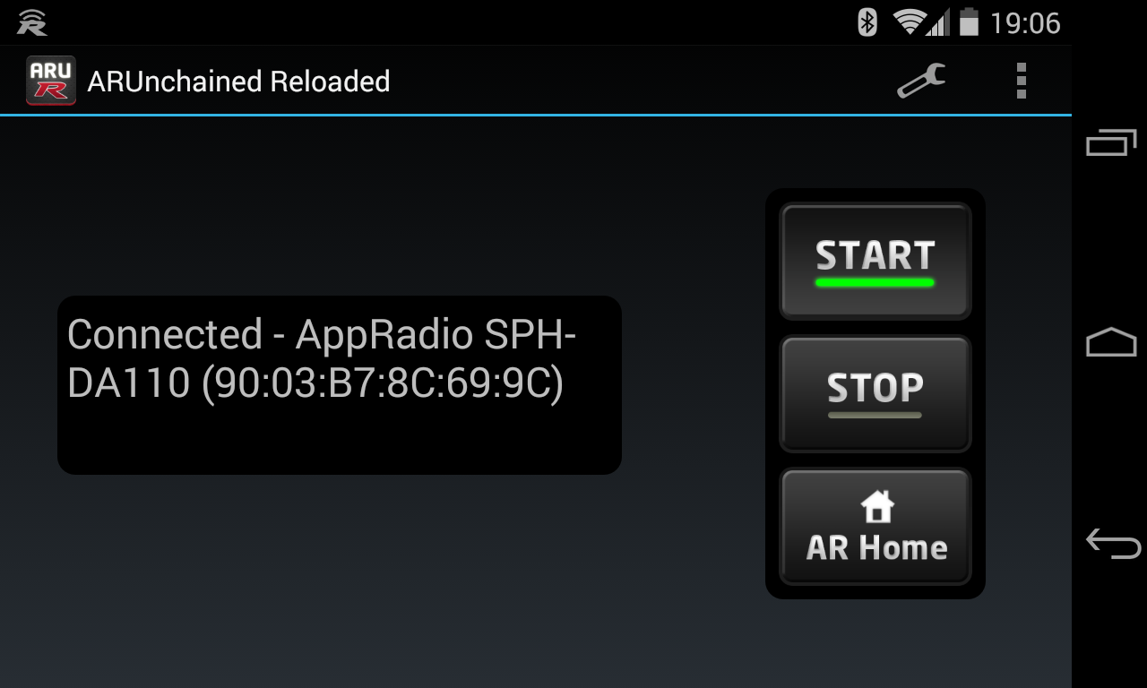 AppRadio Unchained Reloaded Screenshot