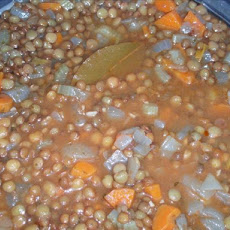 Hearty Vegetarian Lentil Soup