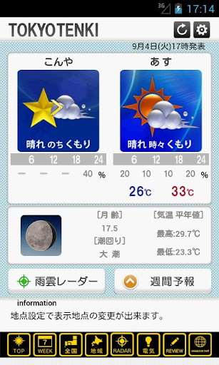 Top 20 Alternative Apps To チャリピク天気! for iPhone & iPad