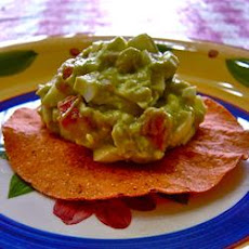 Avocado-Egg Salad Tostada Filling