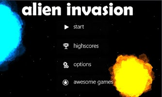 Screenshot of Alien Invasion