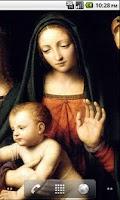 Screenshot of Virgin Mary Wallpaper Free
