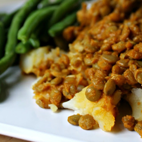 Sweet and Smokey BBQ Lentils [Vegan, Gluten-Free]