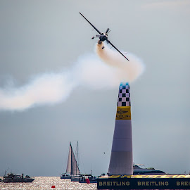 Red Bull Air Race Rovinj 2014 by Saša Halambek - Transportation Airplanes ( istra, sasa halambek, croatia, red bull, rovinj )