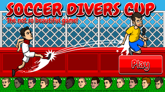 Soccer Divers Cup 2014 - screenshot