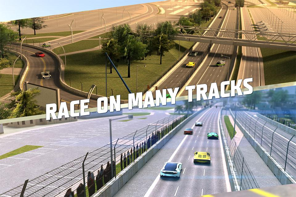 Racing 3D: Asphalt Real Tracks Screenshot 1