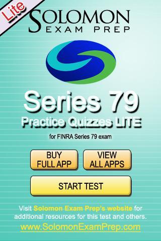 Series 79 Practice Exams Lite