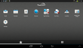 Screenshot of MaaS360 MDM for Android