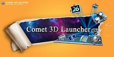 Screenshot of Comet 3D Launcher