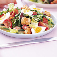 Nicoise Salad With Bacon And Cheesy Croutons