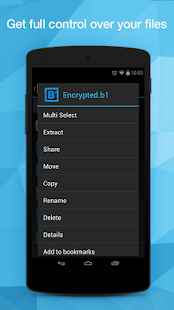 B1 File Manager and Archiver- screenshot thumbnail