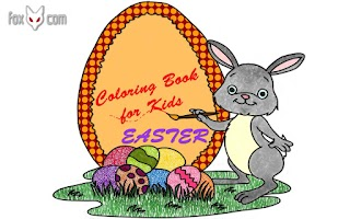 Screenshot of Easter Coloring Book