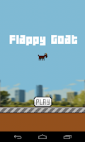 Screenshot of Flappy Goat