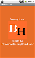 Screenshot of Brew Hound Brewery Beer Finder