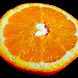 half of orange by LADOCKi Elvira - Food & Drink Fruits & Vegetables ( orange )