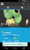Screenshot of Guide for Pokemon's World