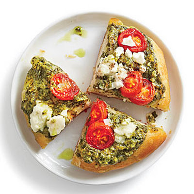Pesto Biscuit Pizza