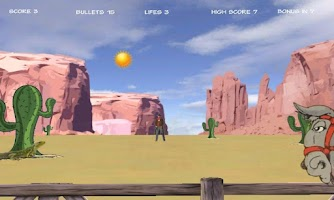 Screenshot of Cowboy Outlaws