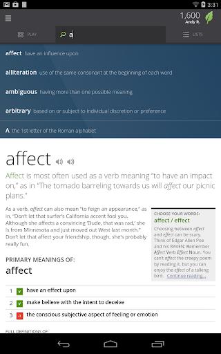 Vocabulary.com - screenshot