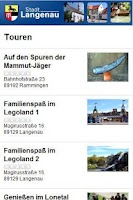 Screenshot of Langenau