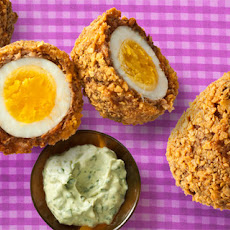 Chorizo Scotch Eggs Recipe