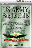 Screenshot of US Army Bugle Calls