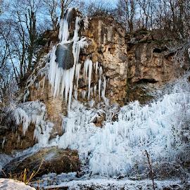 by Siniša Almaši - Landscapes Weather ( water, winter, cold, nature, ice, snow, white, stone, rock, landscape )