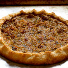 Savory Onion and Leek Tart Recipe