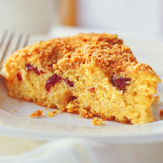 Dried-Cherry Streusel Kuchen