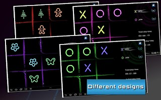 Screenshot of Tic Tac Toe Glow