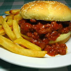 Sweet and Sour Sloppy Joes