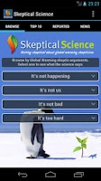Screenshot of Skeptical Science