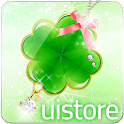 happy clover LWallpaper Free icon