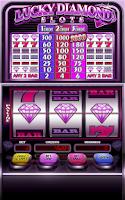 Screenshot of Lucky Diamond Slots Free